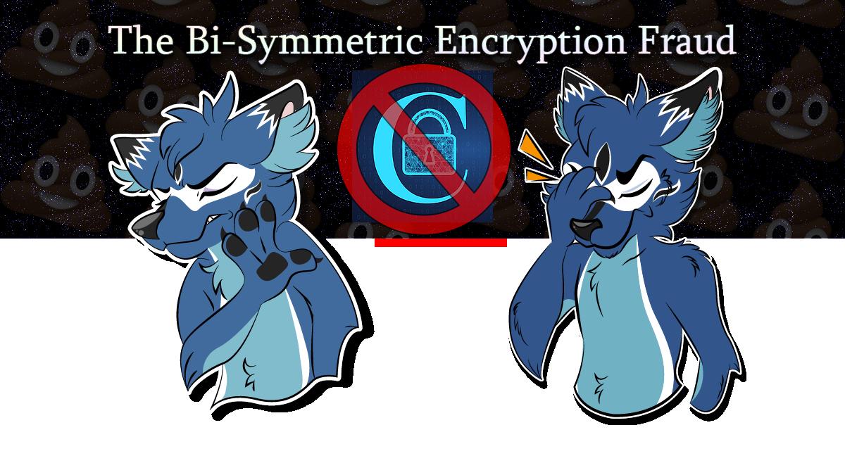 The Bi-Symmetric Encryption Fraud